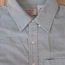 Levi's Corduroy Shirt. Men's. S. nwt.38.sterling Silver Color Photo