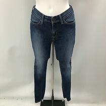 Levi's Jeans Size W26 L32 Blue Washed Denim Mid-Rise Women's Casual Wear 472089 Photo
