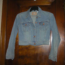 Levi's Levi Strauss Jean Jacket Sz M Euc 0214 Photo
