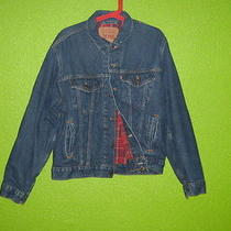 Levi's Lined Blue Jean Jacket Photo