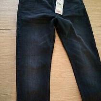 Levi's Men 512 Slim Taper Black Denim Jeans 28x32 Nwt Photo