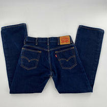 Levi's Men's 517 Bootcut Mid Rise Regular Fit Jeans 30 X 30 Dark Blue 005170198 Photo