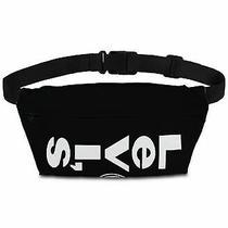 Levi's Men's Bag Black White Logo Solid Sling Belt Zip Fanny Waist Pack 25 243 Photo