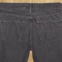Levi's Mens Gray Blue Jeans Red Tab Denim Pants Sz 34 X 32 (A 34 X 31 ) 4089 Photo