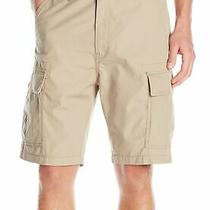 Levi's Mens Shorts Beige Size 38 Cargo Carrier True Chino Loose 55 198 Photo