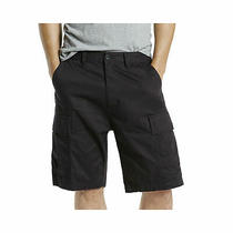 Levi's Mens Shorts Black Size 32 Loose Zip-Fly Solid Carrier Cargo 50 112 Photo