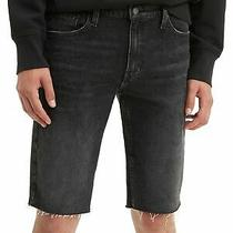 Levi's Mens Shorts Black Size 42 511 Slim Fit Cut Off Hems Denim 50 111 Photo