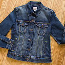 Levi's Modern Jean Denim Jacket Women's Size M  Photo
