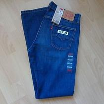 Levi's Nwt Men's 514 Blue Highway Denim Jeans Low Rise Slim-Straight Leg 32x34 Photo