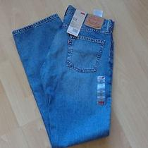 Levi's Nwt Men's 514 Vintage Blue Denim Jeans Slim-Straight Leg - Low Rise 30x32 Photo