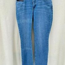 Levi's Perfect Waist/525 Straight Leg Blue Denim Jeans Women's Size 12 W31 L32 Photo