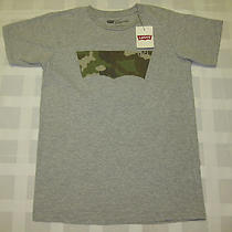 Levi's Short Sleeve T Shirt Size S Small Gray  Green Tee Top New With Tag Photo