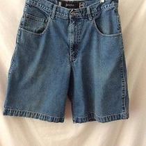 Levi's Silver Tab Jean Shorts   33 X 10  Gently Worn Photo