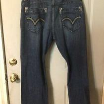 Levi's Silvertab Boot Cut Bootcut Jeans Mens Size 38 X30 Blue Very Nice Photo