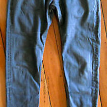 Levi's Skinny Leg Grey Grunge Jeans Size 8 Photo