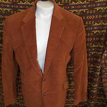 Levi's Western Wear Corduroy Brown Cowboy Sport Coat Blazer Men's Size 44r 44 Photo