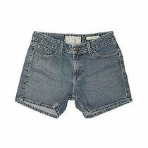 Levi's Women Blue Denim Shorts 10 Photo