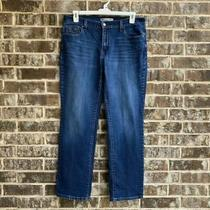 Levi's Women's Straight Leg Jeans Blue Size 12 Photo