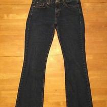 Levi Strauss & Co 515 Blue Jeans Boot Cut Stretch Red Tag Size 8 M Photo