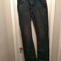 Levi Strauss Men 527 Slim Boot Cut 100% Cotton Denim Jean - 36x36 Dark Blue Photo