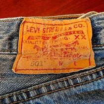 Levis 501 31x32 Straight Fit Photo