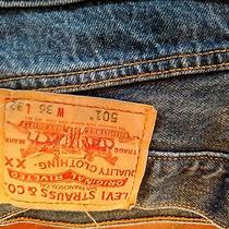 Levis 501 36x32 Straight Fit Photo