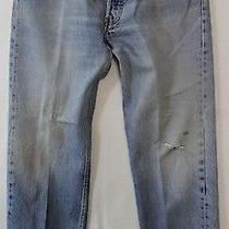 Levis 501 Jeans Mens 36 X 33 Classic Fit Straight Leg Button Fly  Photo
