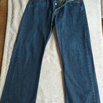 Levis 501 Mens Blue Jean's Fly Straight Leg 30 Waist 30 Leg Photo