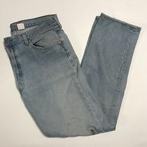 Levis 501 Xx Faded Worn Jeans Mens Size 38x34 Light Wash Blue Photo