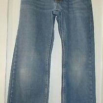 Levis 505 Straight Boys Size 10 Regular W25 X L25 Denim Blue Jeans Photo