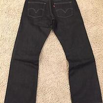 Levis 514 Dark Wash 36 X 32 Mens Jeans Like New Never Worn Photo