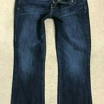 Levis 515 Denim Jeans Womens W31 L28 Bootcut Stretch Fit Size 8 Dark Blue Photo