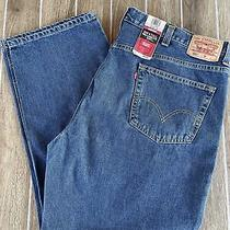 Levis 550 Relaxed Fit Jeans Size 46x30 Stonewash Blue Denim Nwt Vintage big&tall Photo