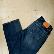 Levis 559 Men's Blue Jeans Relaxed Straight Size 3330 Photo
