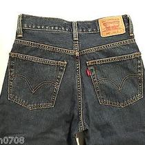 Levis 569 Loose Straight Boys Jeans Sz 14 Reg 27x27    Free Us Ship Addl Items Photo
