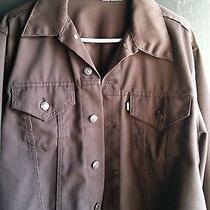 Levis Brown Denim Jacket Photo