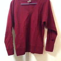 Levis  Burgundy Lamb Wool Sweater Photo