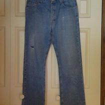 Levis Custom Men's Bootcut Jeans 38w 36l Photo