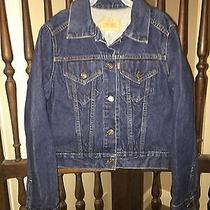 Levis Denim Jean Jacket Kids Girls Med. 10 - 12 Made in the Usa Photo