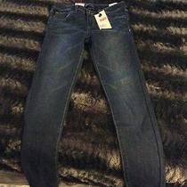 Levis Denim Leggings Jeans Girls Size 10 Regular Indigo Blue Jeans Macys Nwt Photo