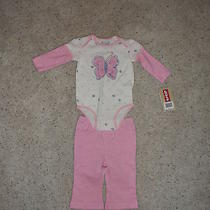 Levis Infant Infant Girls Onsie and Pants Sz 6 Months Nwt Photo