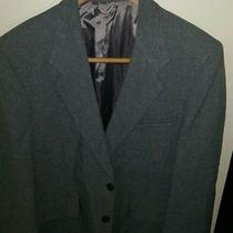 Levis Mens Blazer Gray High End Line Sta-Prest Sports Coat Menswear Photo