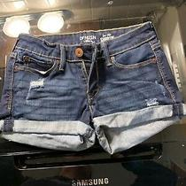 Levis Shortie Denium Shorts jr.s  Size 3 Photo