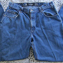 Levis Silver Tab Baggy Mens Blue Jeans 37 X 31  Photo