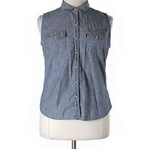 Levis Sleeveless Blouse Xl Solid Photo
