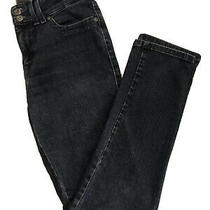 Levis Strauss Women's Mid Rise Skinny Dark Wash Blue Jeans Size 28 Photo