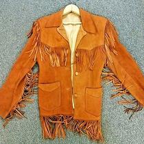 Levis Vintage 1960's Big E Levis Jacket Leather Buck Skin Suede Made Usa  Photo