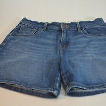Levis Women Blue Jean Short Size 8 Cotton Photo