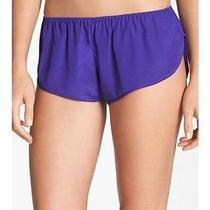 Lfv by La Fee Verte Purple Briefs Shorts Small 2 4 6 Nwot Panty Track Lingerie Photo