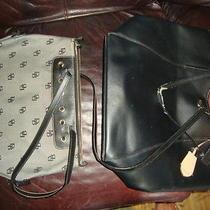 Lg Black Coach Peyton Saffiano Tote Dooney & Bourke Shoulder Bag Straps Need Tlc Photo